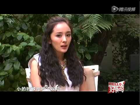 [interview: 2012] Yang Mi at Hollywood