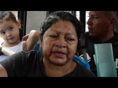 """Campaña móvil en buses de Managua """"Invertir en las Adolescentes. La Mejor Estrategia"""""""