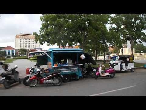 Taking a short trip in Phnom Penh capital 6 5 2017
