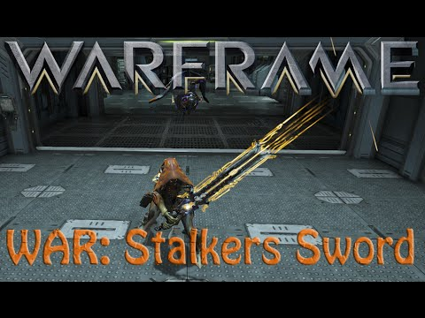 Warframe War Stalker Sword Youtube
