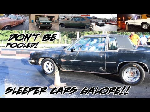 SOME OF THE BEST SLEEPER CARS EVER!!! WHEN LOOKS DON'T MATCH SPEED!