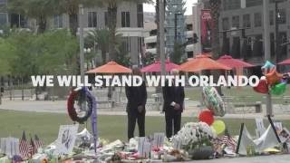 Obama: We Will Stand With Orlando