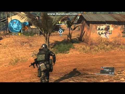 Metal Gear Online 3 (MGO3) - Enforcer class Angry Gameplay
