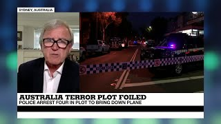 Australia  Terror plot to bring down plane foiled, 4 arrests