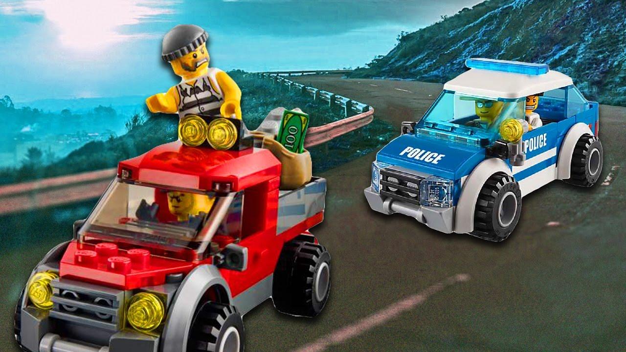 Lego City Polizei Deutsch Ausbruch Aus Der Polizeistation Teil