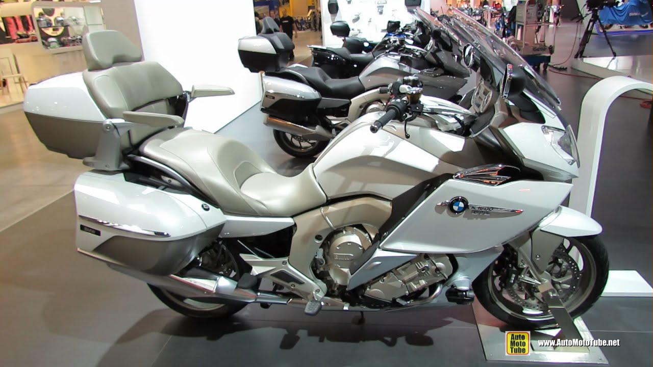 2015 BMW K1600GTL Exclusive - Walkaround - 2014 EICMA ...