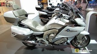 2015 BMW K1600GTL Exclusive - Walkaround - 2014 EICMA Milan Motorcycle Exhibition
