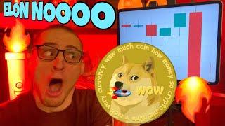 ⚠️ Elon Musk Crash Dogecoin & Bitcoin ⚠️ NOOOOOOOO ⚠️