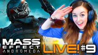 🚀MASS EFFECT: ANDROMEDA *LIVE* - PART 9 ☄ THE BIGGEST PUZZLE FAIL EVER!