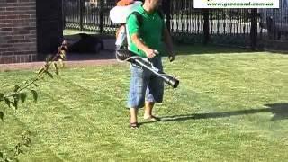 Безопасная обработка газона фунгицидами(Серия видео от Садового центра «Greensad» по комплексному уходу за газоном: стрижка газона газонокосилкой,..., 2012-07-04T15:25:00.000Z)
