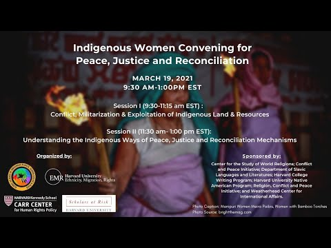 Indigenous Women Convening for Peace, Justice, and Reconciliation on YouTube