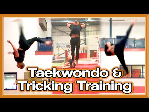Taekwondo Kicking & Tricking Training | The Recovery