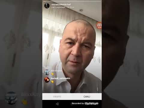 Muratchef canlı yayında TV8 Hasan'a küfür ediyor (top hasan si*tim seni hasan)