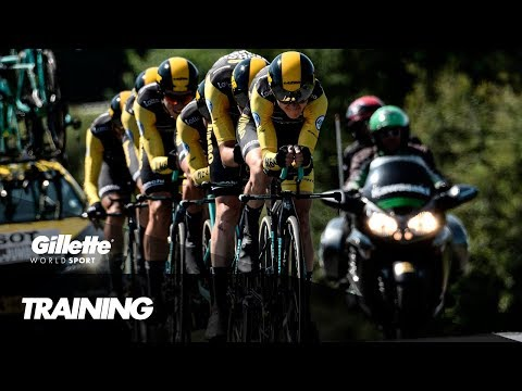 GT Training with Team Lotto Jumbo | Gillette World Sport