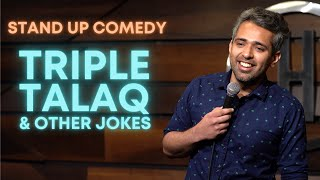 Triple Talaq & Other Jokes | Stand Up Comedy By Shivam Lakhanpal