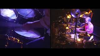 Phil Collins - Colours (live 1990) - Drum Cam Phil and Chester