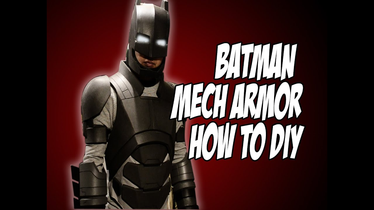 Batman vs superman mech armor batsuit how to diy costume cosplay batman vs superman mech armor batsuit how to diy costume cosplay solutioingenieria Image collections