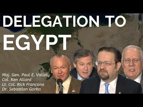 Westminster Institute Delegation to Egypt
