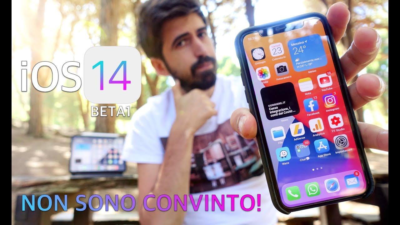 iOS 14 Beta tutte le NOVITÀ PRINCIPALI e prime impressioni