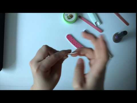 ASMR Soft Spoken Nail filing and polishing