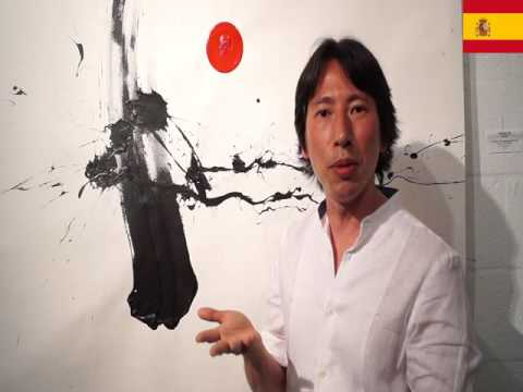 The shingo oe artist interviewed by Nina Torres Fine Art Gallery  in Miami