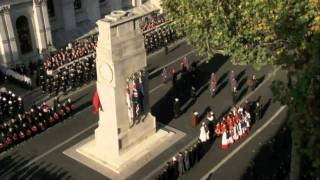 The Arrival of the Royal Party and Wreath Laying Ceremony - Cenotaph 2011