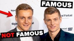 Footballers with a less famous brother