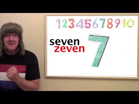 Learn Dutch - Lesson 1 - Count from 1 - 10 in Dutch with Jingle Jeff and Professor Giggle