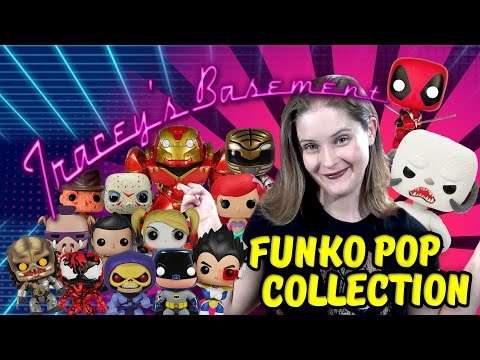 Tracey's Basement Funko Pop Collection and a Thank You