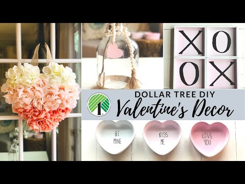 Dollar Tree DIY Valentines Home Decor