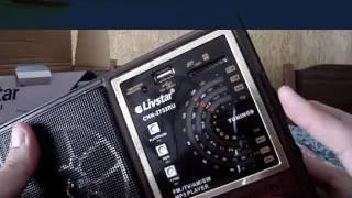 Unboxing Rádio Retrô Portátil Am/fm Usb Cartão Sd Livstar Cnn-2732