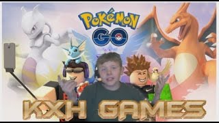 KXH GAMES - ROBLOX #1 - Pokemon Go! Edition