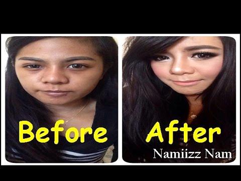 How to การแต่งหน้าสำหรับสาวผิวคล้ำ เปลี่ยนผีให้เป็นคน Make up by Namiizz