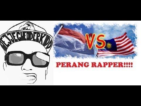 INDONESIA VS MALAYSIA Better Rap Hip Hop