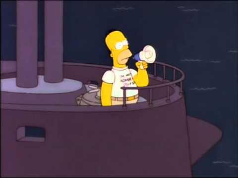 Los Simpsons - Es mi primer dia