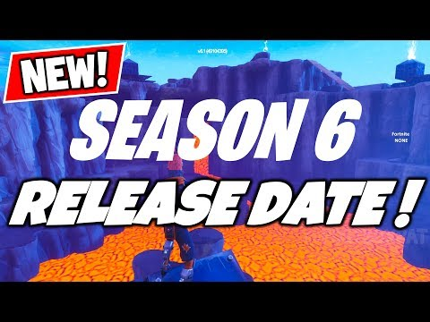 FORTNITE SEASON 6 RELEASE DATE! CONFIRMED! (Delayed)