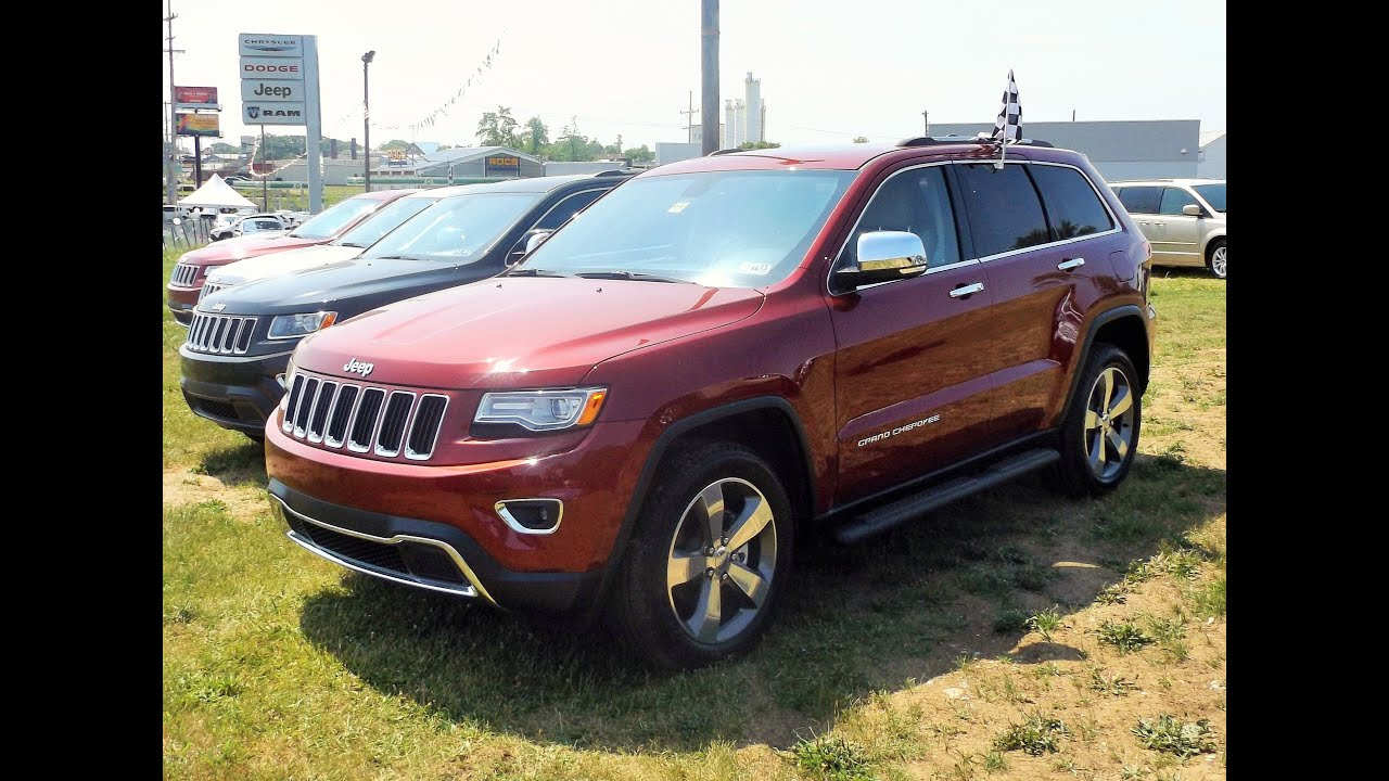 2015 jeep grand cherokee limited 4x4 start up tour and review youtube. Black Bedroom Furniture Sets. Home Design Ideas