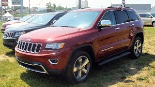 2015 Jeep Grand Cherokee Limited 4X4 Start Up, Tour and Review