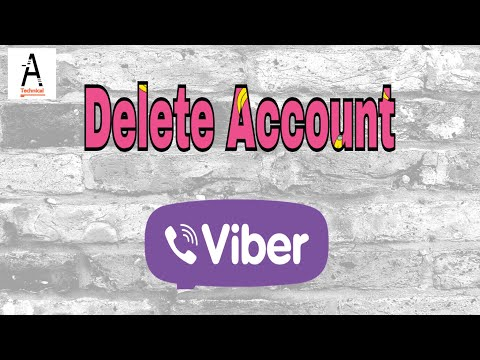 How to Delete Viber Account Permanently 2017|Delete Viber|