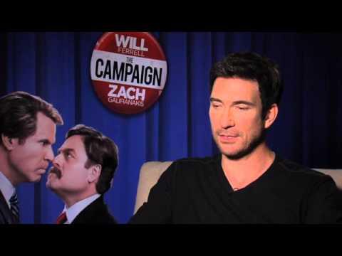 The Campaign (Moi, Député) Dylan McDermott interview HD