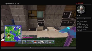 Mindcraft ps4 building a obsidian generator by k1 inc tour of server and member of the month