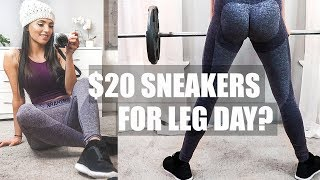 The BEST Affordable Shoes for Leg Day