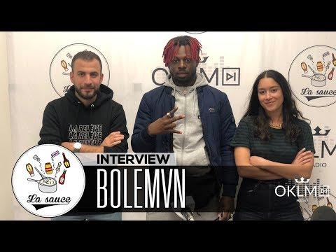 Youtube: BOLEMVN (« Salut Les Terriens », Le Bat 7, ses influences…) – #LaSauce sur OKLM Radio 15/05/19