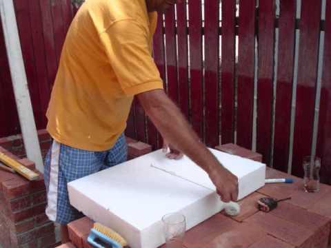 Gratar de gradina din caramida ziua 2 brick bbq day for Gratare de gradina