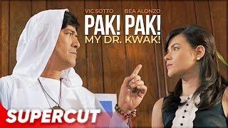 Download lagu Pak! Pak! My Dr. Kwak!   Vic Sotto and Bea Alonzo   Supercut