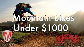 How to Buy A Mountain Bike Under $1000