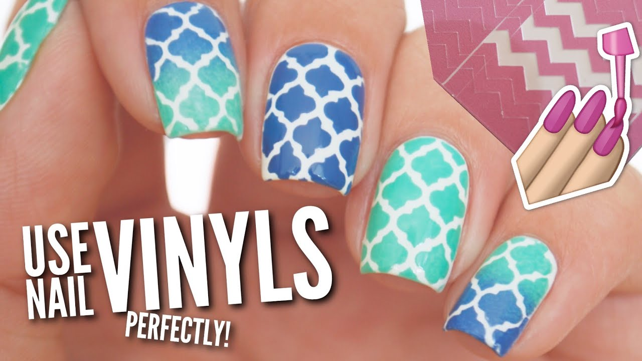 Use Nail Vinyls Perfectly On Your Nails