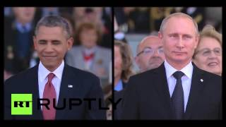 I catch your eyes Putin and OBAMA