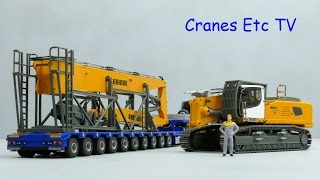Conrad Liebherr R 960 Demolition Excavator by Cranes Etc TV