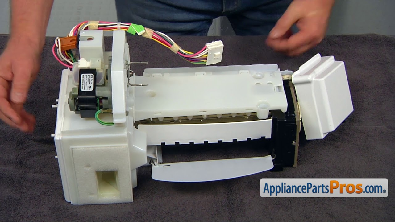 How To: Whirlpool/KitchenAid/Maytag Icemaker embly WPW10190981 Ice Maker Wiring Diagram on